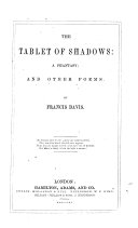 Pdf The Tablet of Shadows