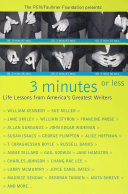3 Minutes or Less Pdf/ePub eBook