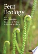 Fern Ecology Book