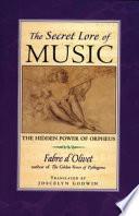 Secret Lore Of Music