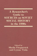 A Researcher's Guide to Sources on Soviet Social History in the 1930s [Pdf/ePub] eBook