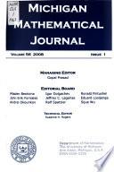 The Michigan Mathematical Journal