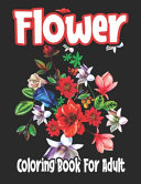 Flower Coloring Book For Adult