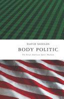 Body Politic Pdf/ePub eBook