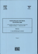 Nonlinear Control Systems 2004
