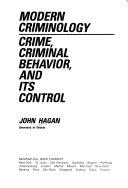 Modern criminology