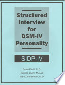 Structured Interview for DSM-IV Personality