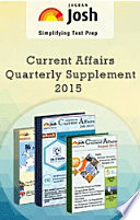 Current Affairs Quarterly Supplement ( July'15 , Aug'15 and Sept'15 ) eBook