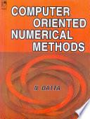 Computer Oriented Numerical Methods
