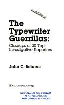 The Typewriter Guerrillas
