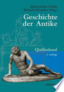 Geschichte der Antike  : Quellenband