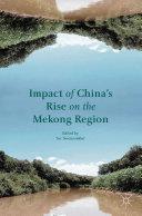 Impact of China's Rise on the Mekong Region [Pdf/ePub] eBook