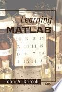 Learning MATLAB Book