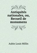 Pdf Antiquit?s nationales, ou, Recueil de monumens Telecharger