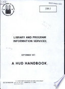 Library and Program Information Services