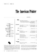 American Printer and Lithographer Book