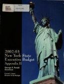 New York State Executive Budget