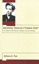 Becoming  America s Problem Child  Book