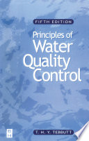 Principles of Water Quality Control