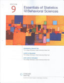 Essentials of Statistics for the Behavioral Sciences + Mindtap Psychology, 1 Term - 6 ... Months Access Card