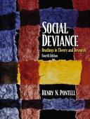 Social Deviance