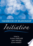 Handbook of Relationship Initiation