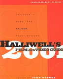 Halliwell S Film And Video Guide 2001