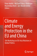 Climate and Energy Protection in the EU and China Pdf/ePub eBook