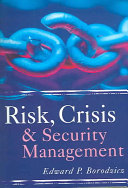 Risk  Crisis and Security Management Book