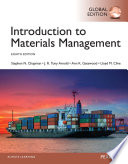 Introduction to Materials Management, Global Edition