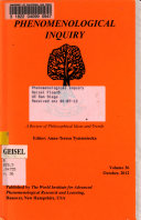 Phenomenological Inquiry