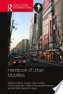 Handbook of Urban Mobilities