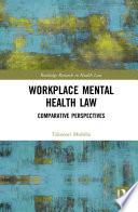 Workplace Mental Health Law