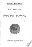 Catalogue of English Fiction