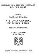 Historia general de Euskalerria