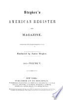 Stryker's American Register and Magazine