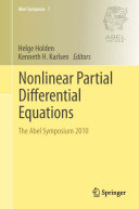 Nonlinear Partial Differential Equations