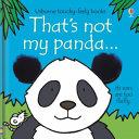 That S Not My Panda PDF