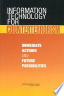 Information Technology for Counterterrorism