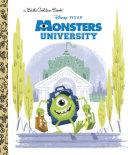 Monsters University Little Golden Book Disney Pixar Monsters University