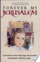 Forever My Jerusalem Book PDF