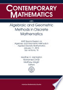 Algebraic and Geometric Methods in Discrete Mathematics