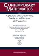 Algebraic and Geometric Methods in Discrete Mathematics Pdf/ePub eBook