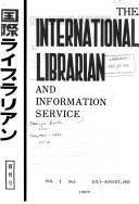 The International Librarian and Information Services