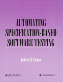 Automating Specification Based Software Testing