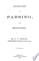 Exercises in Parsing for Beginners