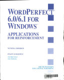 WordPerfect 6.1 for Windows, Applications for Reinforcement