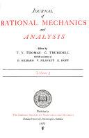 Journal of Rational Mechanics and Analysis