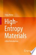High Entropy Materials