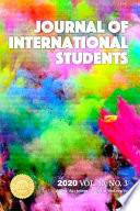 Journal of International Students  2020 Vol  10 No  3